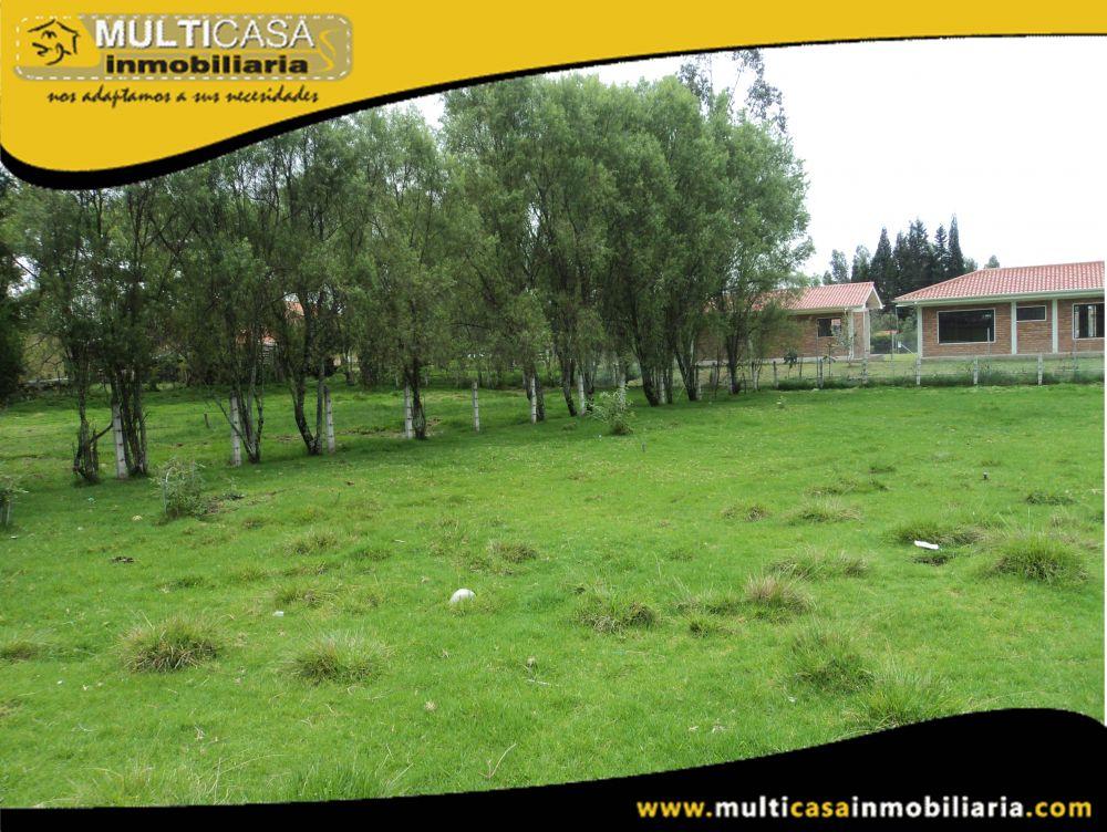 Venta de hermoso Terreno con todas las obras a crédito Sector San Joaquin Cuenca-Ecuador