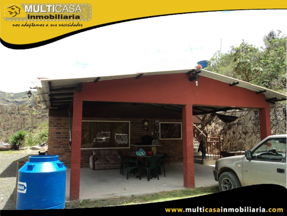 Venta de Hermosa casa con amplio Terreno a crédito Sector Entrada Bulán-Paute-Ecuador