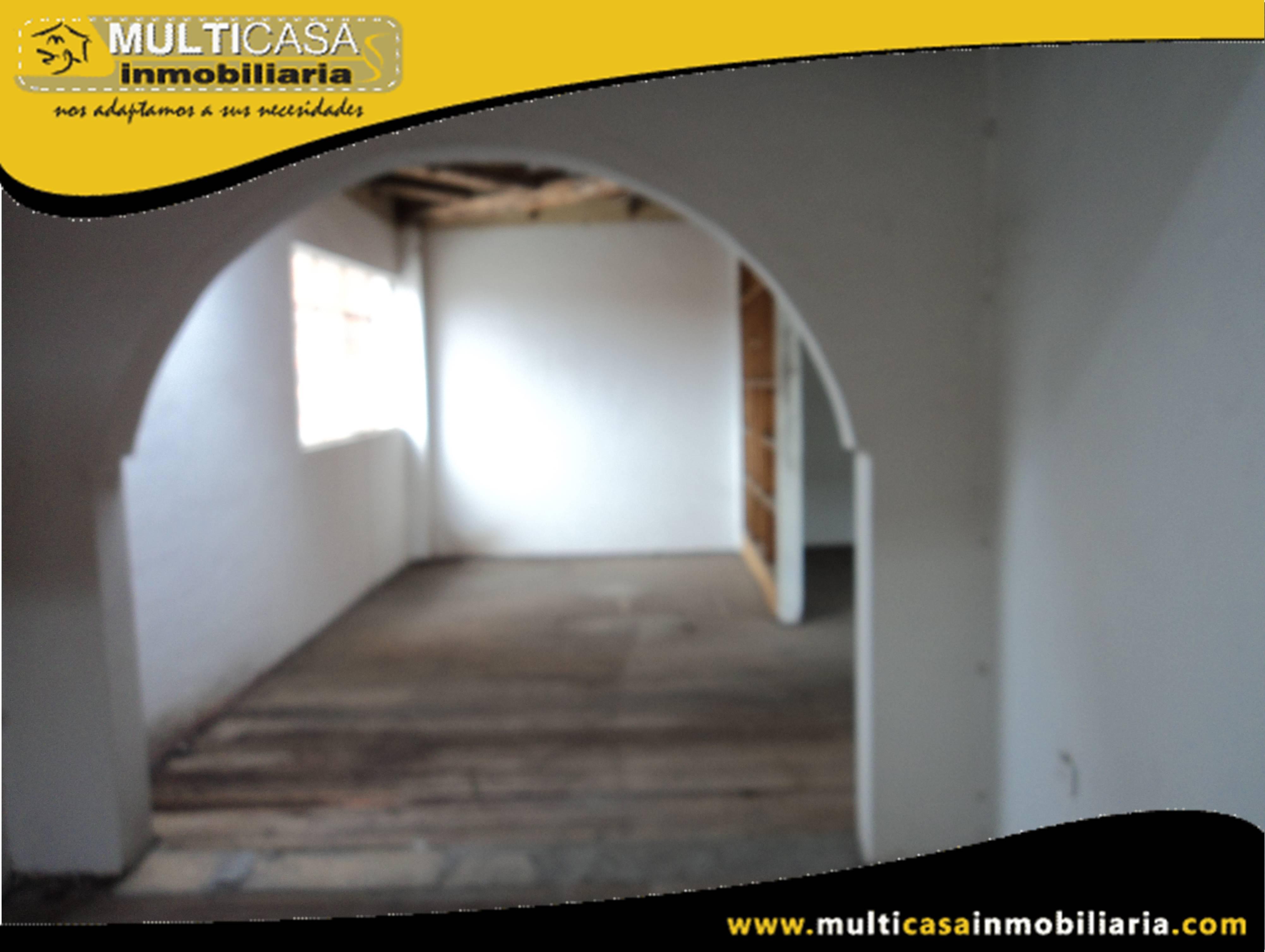 Venta de Hermosa Casa Comercial ideal para oficinas Sector Chola Cuencana Cuenca-Ecuador <br>
