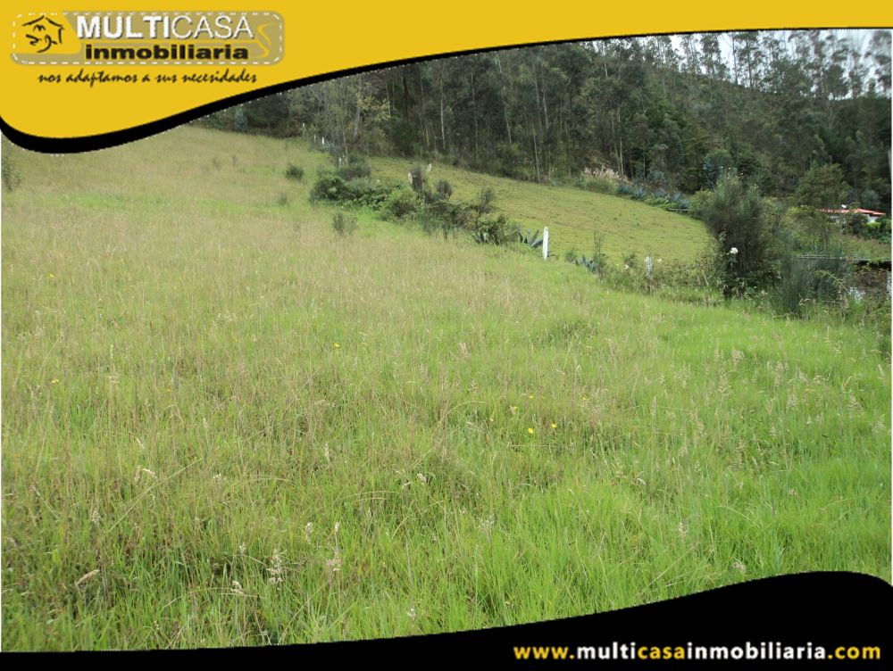 Venta de Hermoso Terreno a crédito con todas las obras Sector Tarqui Cuenca-Ecuador