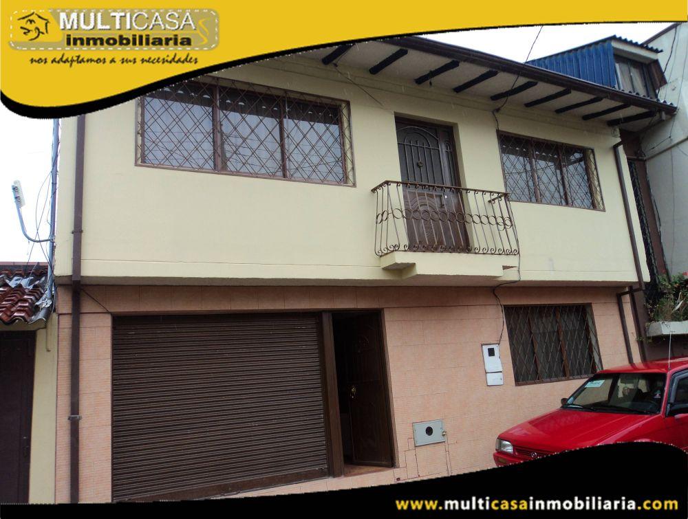 Venta de hermosa casa a crédito excelente ubicación sector Ordoñez Lazo Cuenca -Ecuador