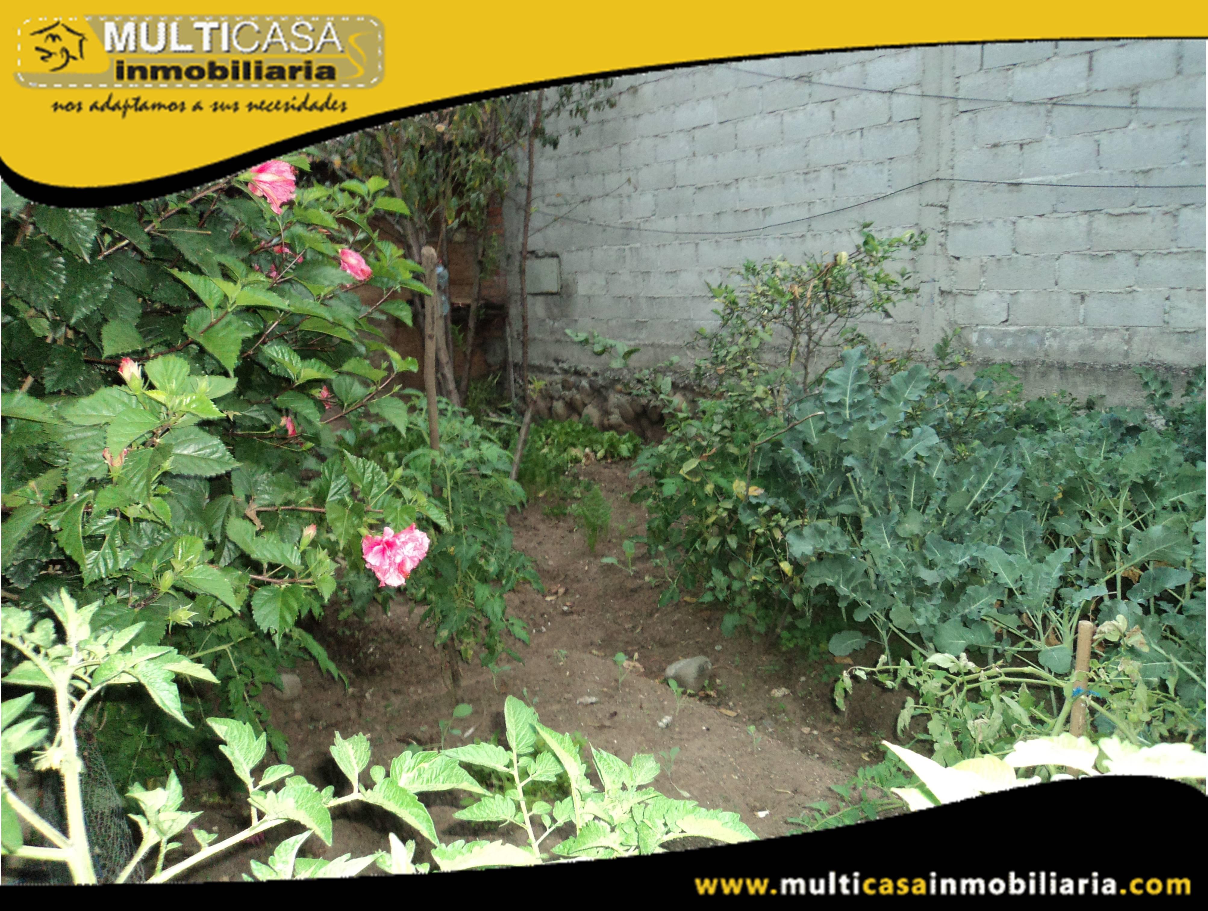 Terreno en Venta a Crédito residencial Sector Machangara Cuenca-Ecuador