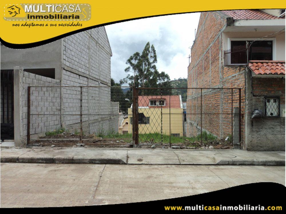 Venta de Hermoso Terreno a Crédito Sector Gonzalez Suarez Cuenca-Ecuador