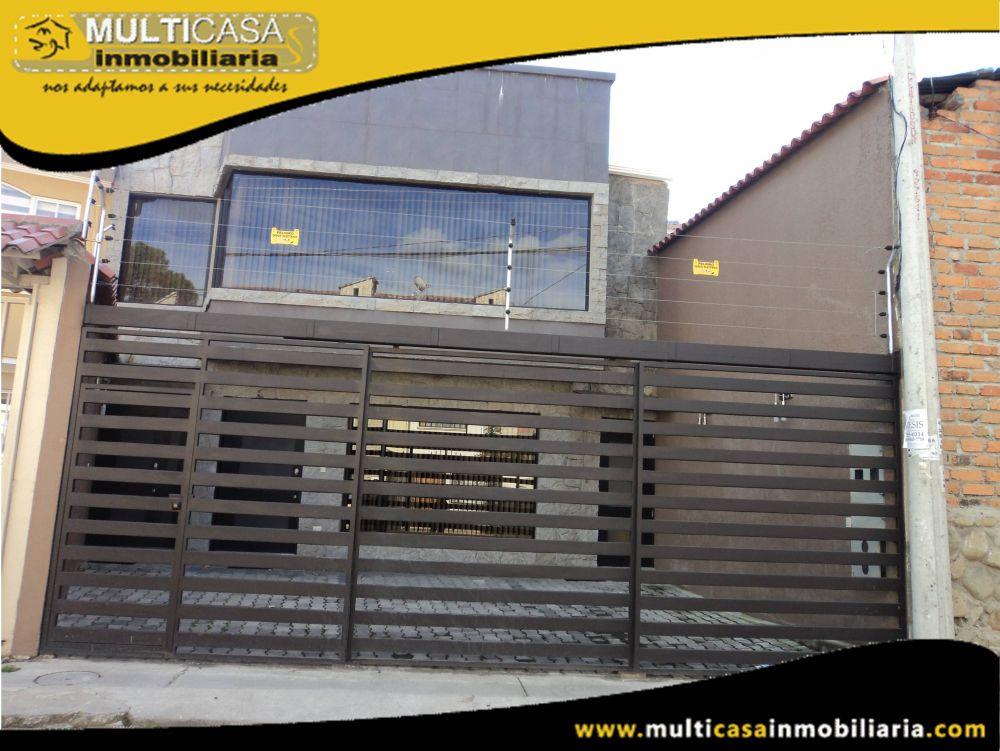 Arriendo hermoso Departamento Duplex amoblado de lujo Sector Av.Primero de Mayo Cuenca-Ecuador