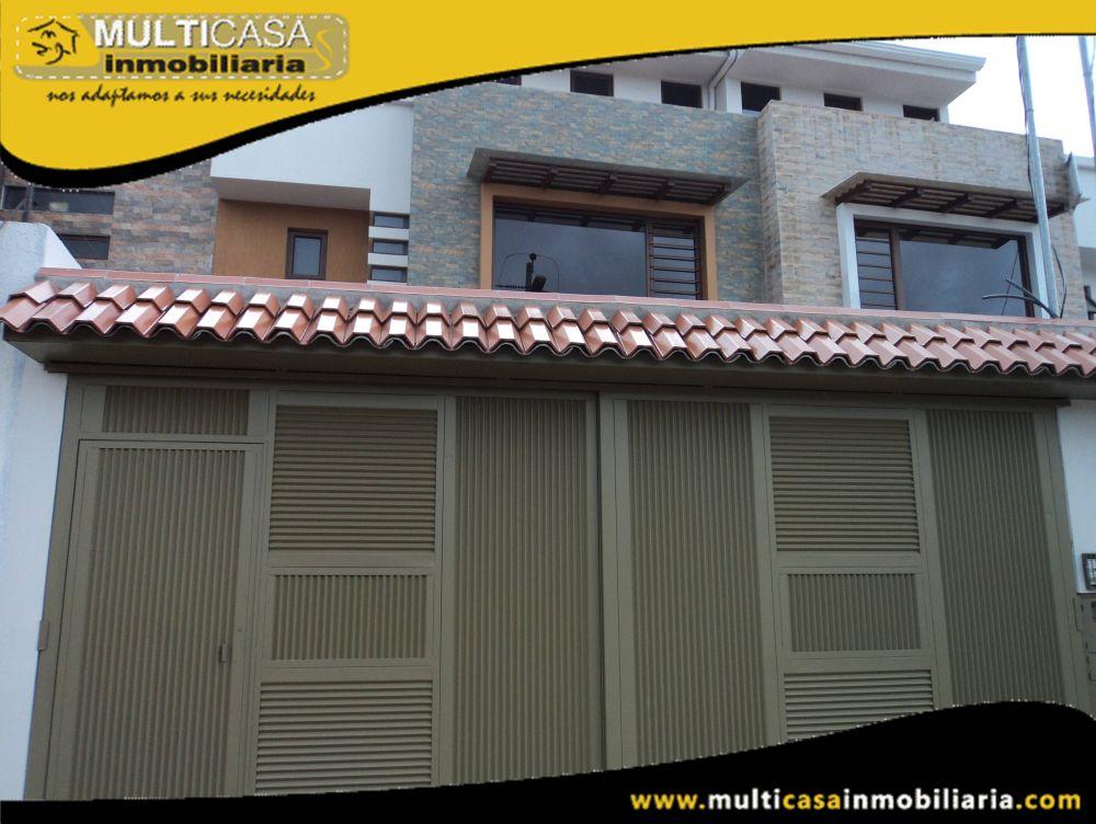 Venta de Hermosa Casa a crédito Sector Don Bosco Cuenca-Ecuador