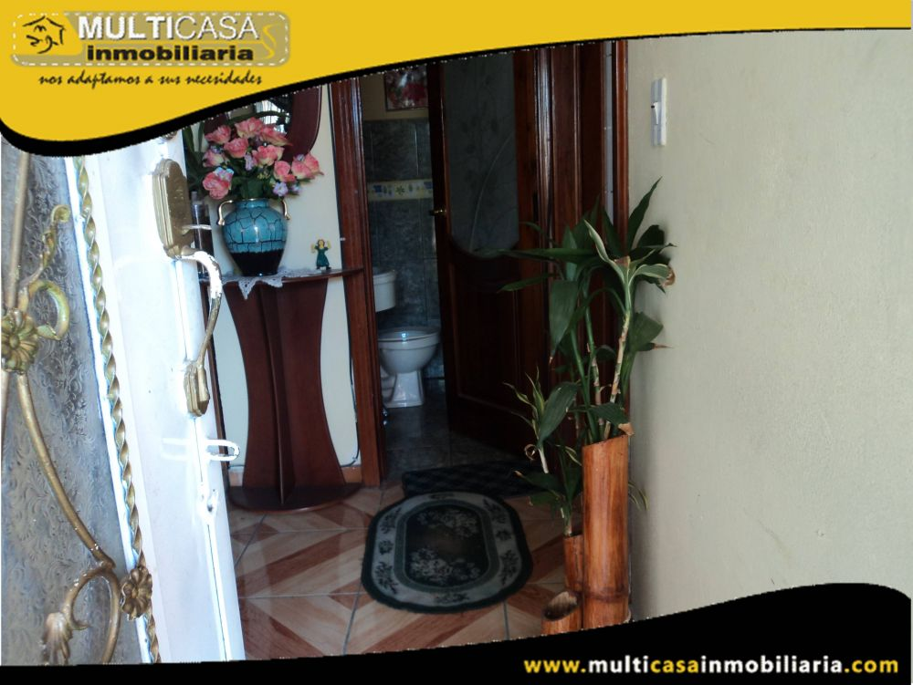 Casa en Venta con Local comercial a crédito Sector Miraflores Cuenca-Ecuador