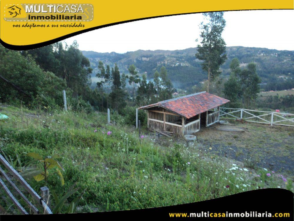 Venta de Hermoso Terreno a crédito con servicio de Luz y agua de Riego Sector Ricaurte Cuenca-Ecuador