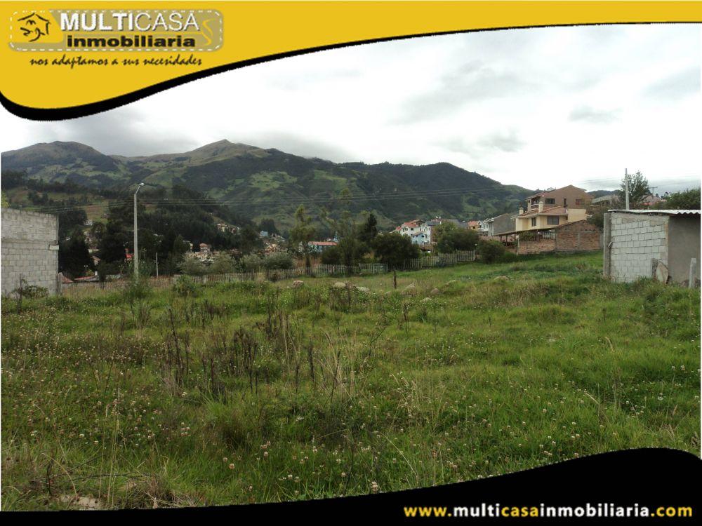 Terreno en Venta a Crédito plano residencial Sector Misicata Cuenca-Ecuador