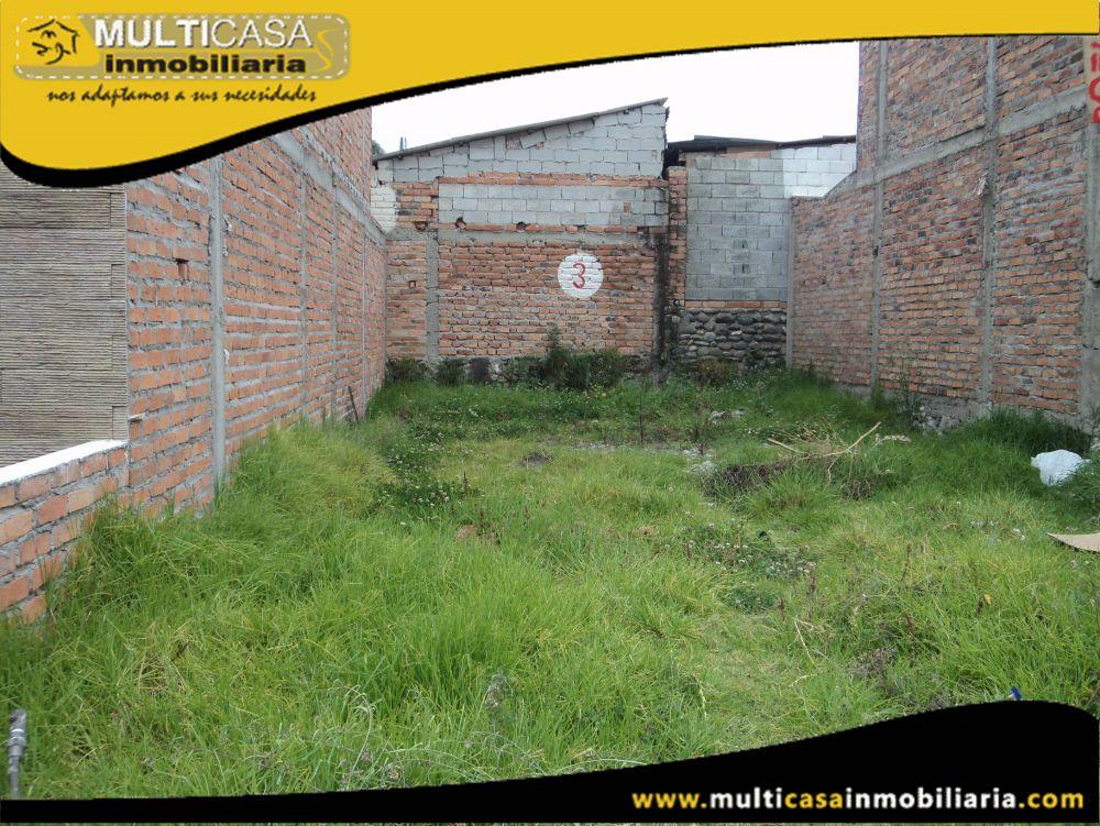 Terreno en Venta a Crédito en Ciudadela Privada Sector Colegio Sudamericano Cuenca-Ecuador