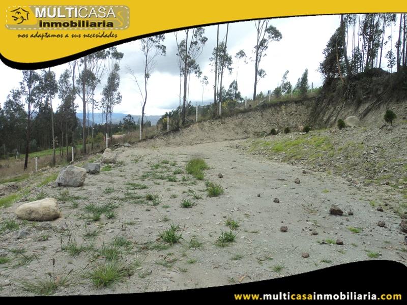 Terreno en Venta a Crédito de oportunidad sector Solano Cuenca-Ecuador