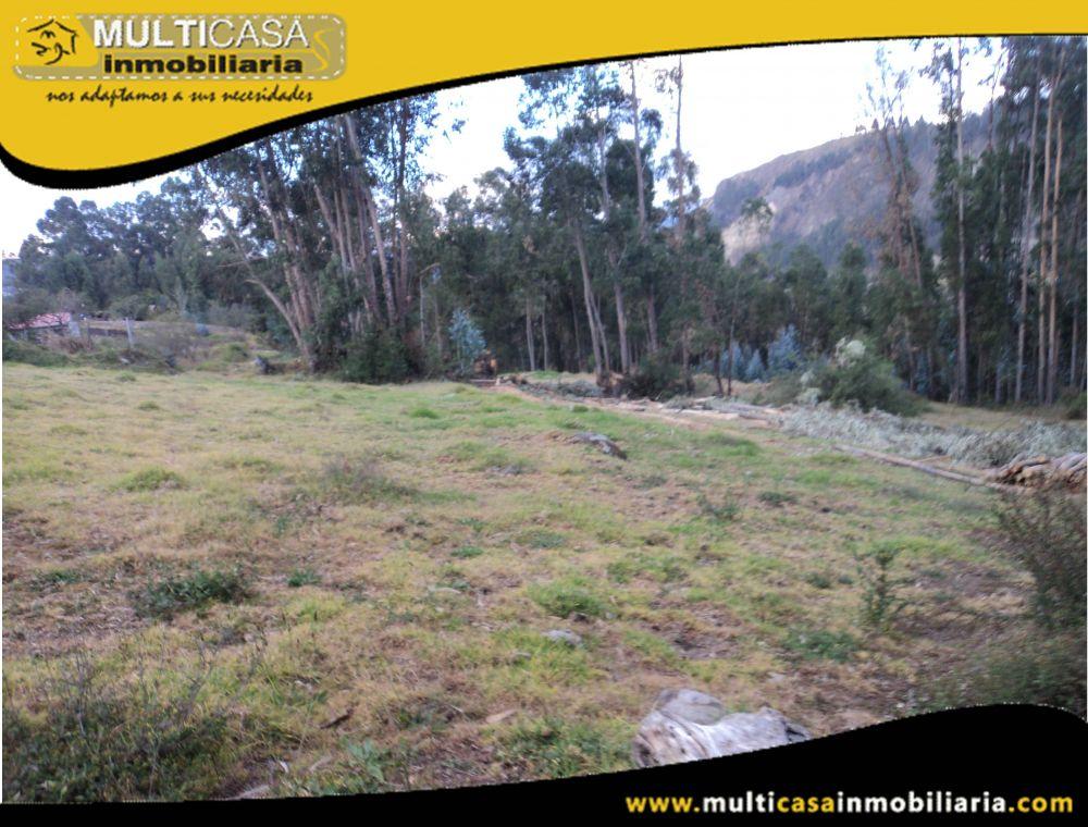 Sitio en Venta a Crédito  Sector Ricaurte Cuenca-Ecuador