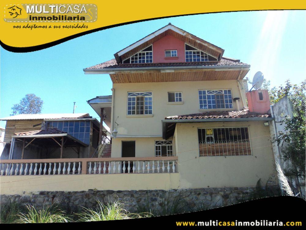 Venta de Hermosa Casa a Crédito con horno de leña y media Agua Sector Misicata Cuenca-Ecuador
