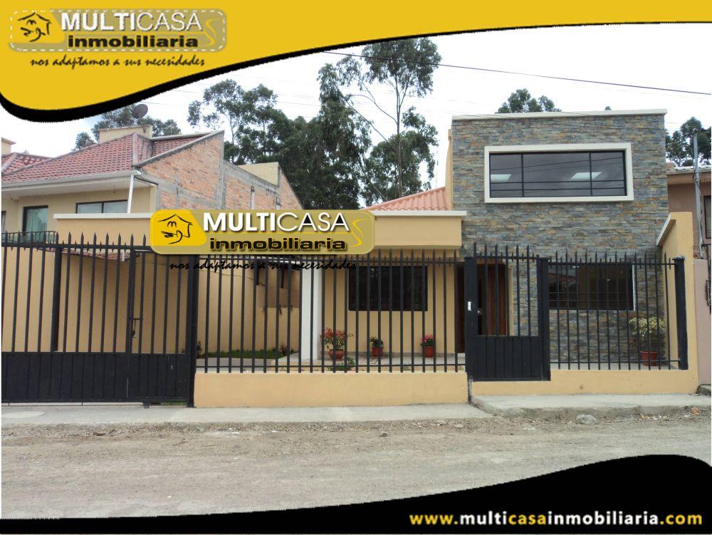 Dos Casas en Una en Venta a Crédito Sector Baños Cuenca-Ecuador