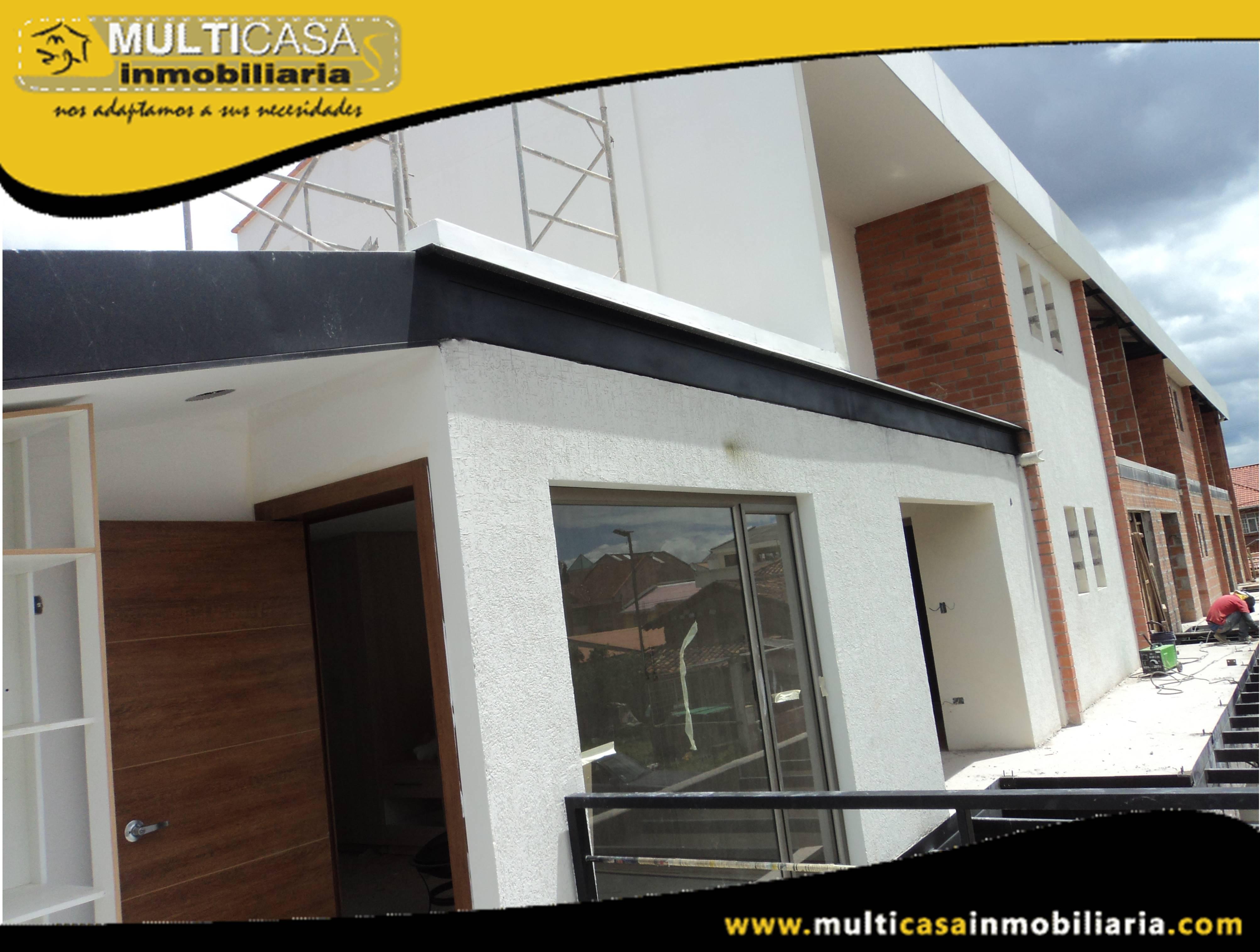 Venta de Hermosa Suite a Crédito por estrenar en Condominio Sector Don Bosco Cuenca-Ecuador