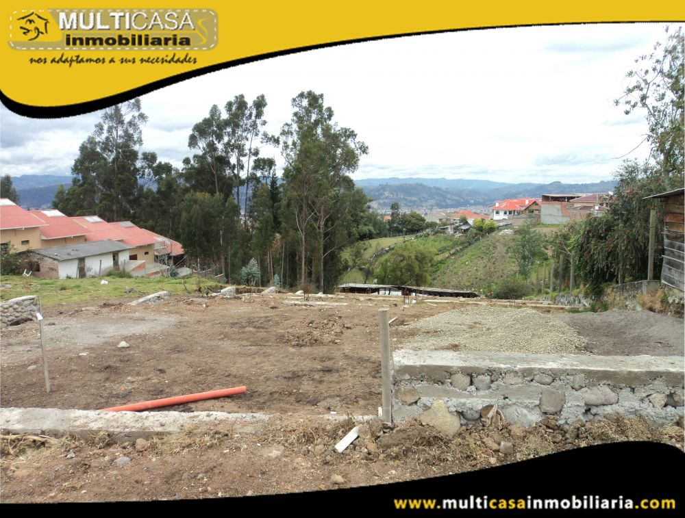 Venta de Hermosos Lotes a Crédito en Condominio Sector Racar Cuenca-Ecuador