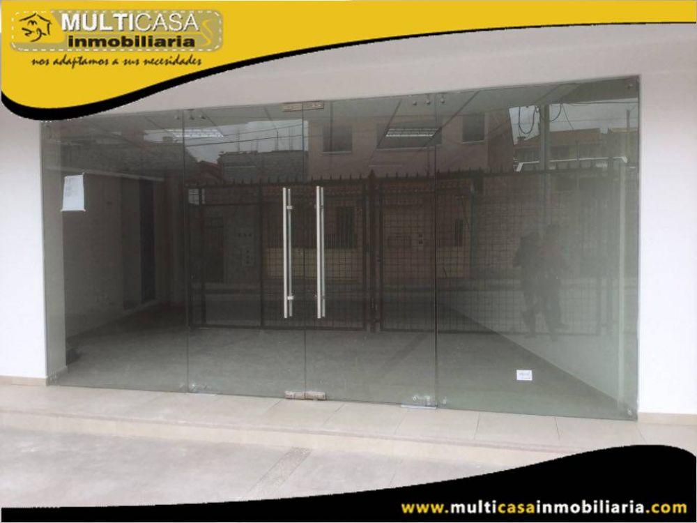 Rento locales por estrenar con garaje para dos Vehículos Sector San Pedro del Cebollar Cuenca-Ecuador