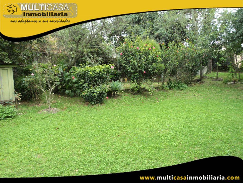 Venta de Hermoso Terreno a credito Sector Las Orquídeas Cuenca-Ecuador