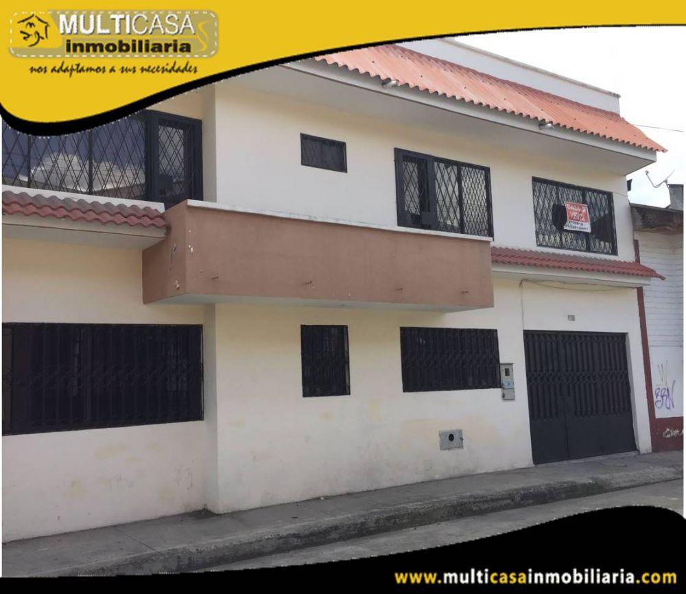 Venta de hermosa casa a credito de tres plantas Sector Totoracocha Cuenca-Ecuador