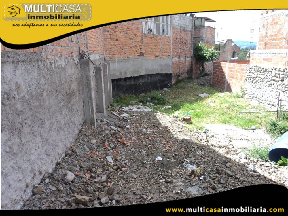 Terreno en Venta Crédito en Urbanización Sector Racar Cuenca-Ecuador