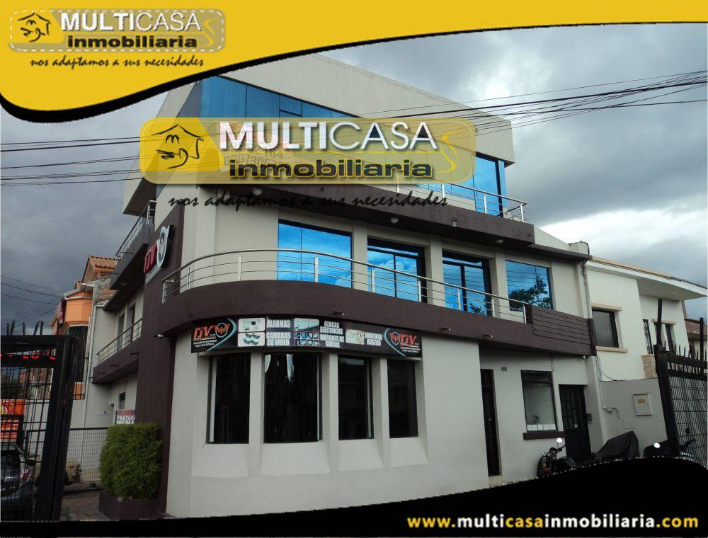 Arriendo Oficinas amplias con garaje Sector Ciudadela Alvarez Cuenca-Ecuador