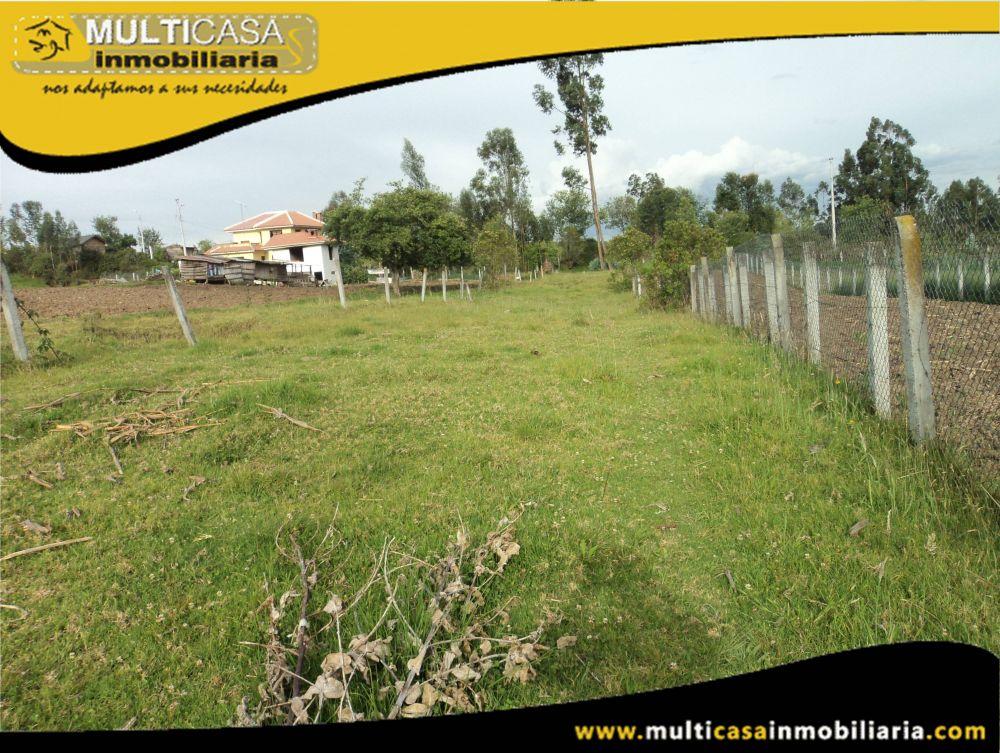 Terreno en Venta a Crédito dos entradas Sector Sinincay Cuenca-Ecuador
