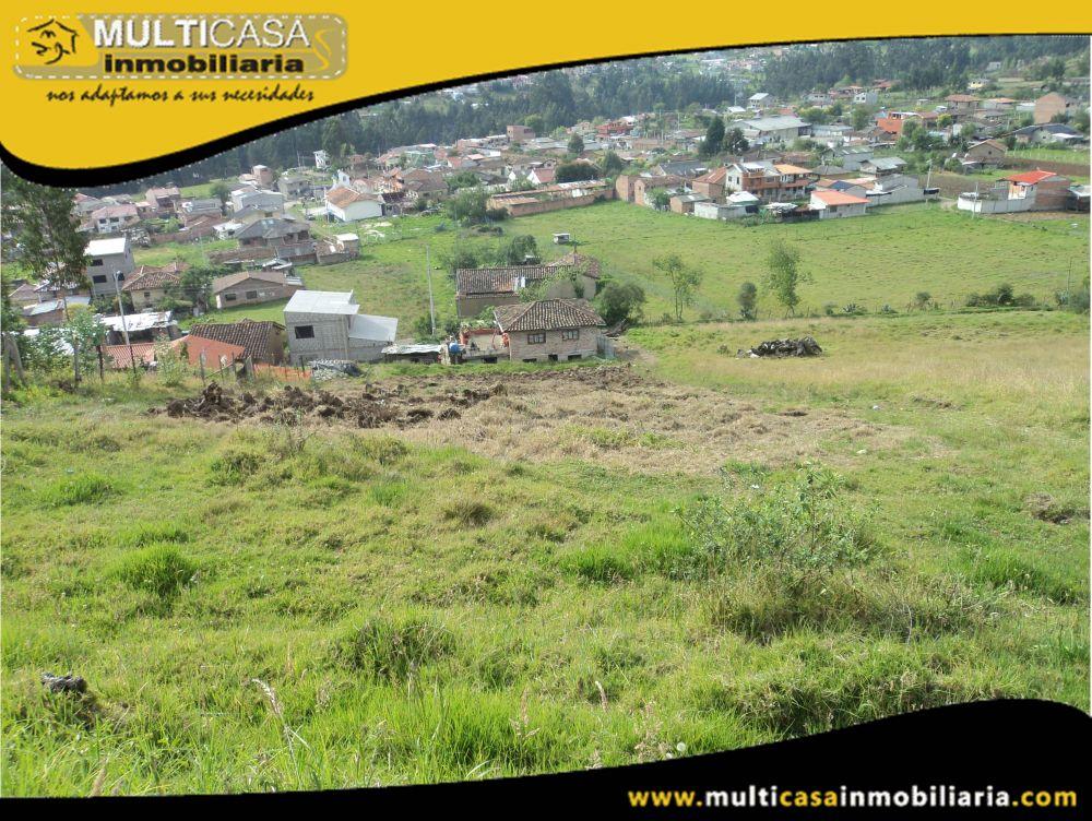 Terreno en Venta a Crédito Sector Sayausi-Buenos Aires Cuenca-Ecuador