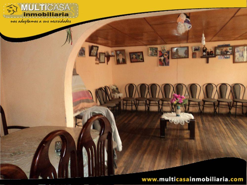 Casa Hostal en Venta a Crédito Sector Vía al Valle-Chilcapamba Cuenca-Ecuador