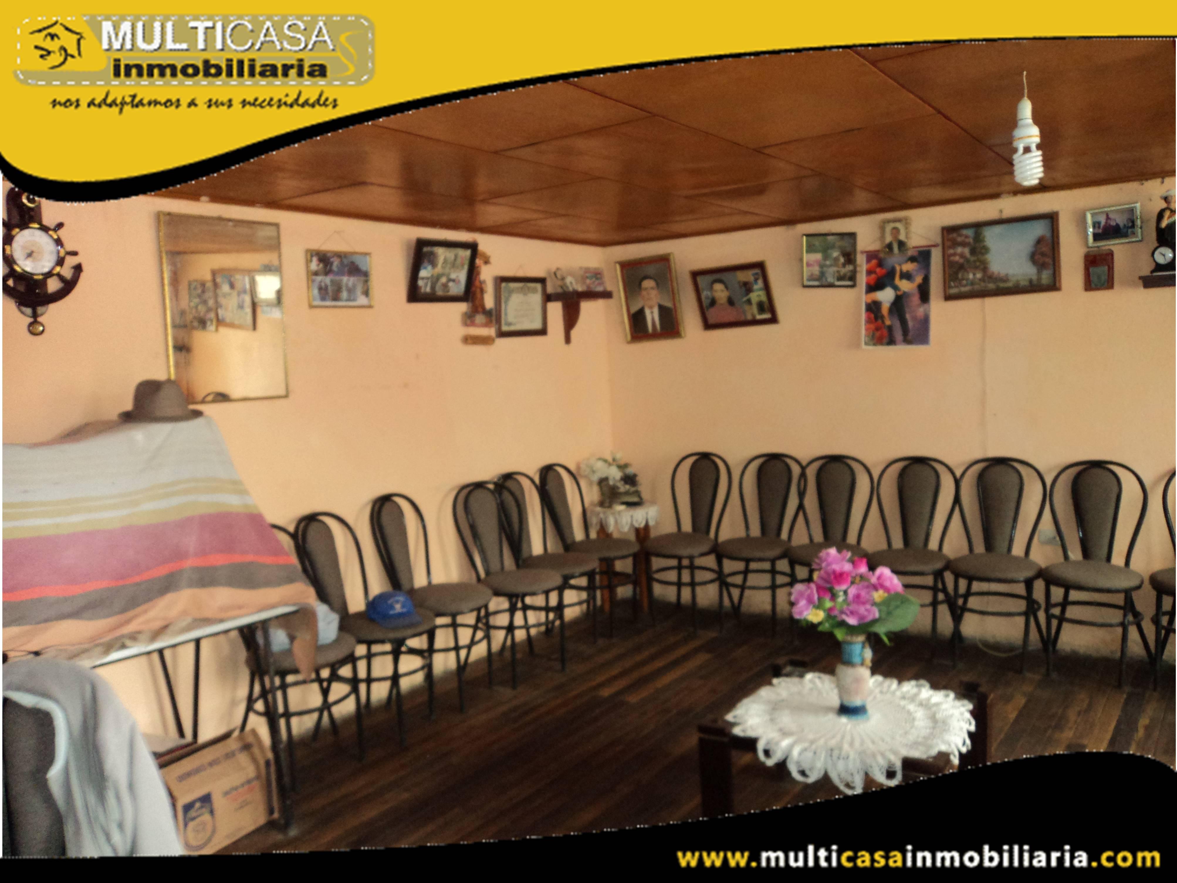Venta de Hermosa Casa Residencial-Hostal a Crédito Sector Vía al Valle-Chilcapamba Cuenca-Ecuador