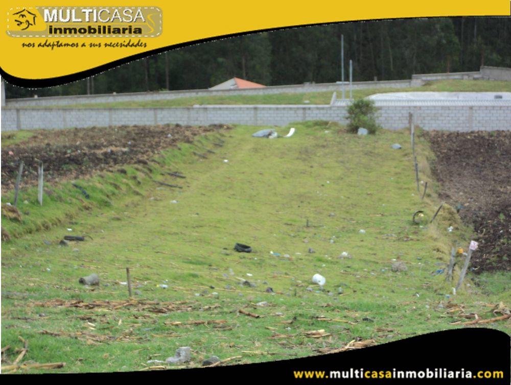 Lote en Venta a Crédito Sector El Cebollar Cuenca-Ecuador