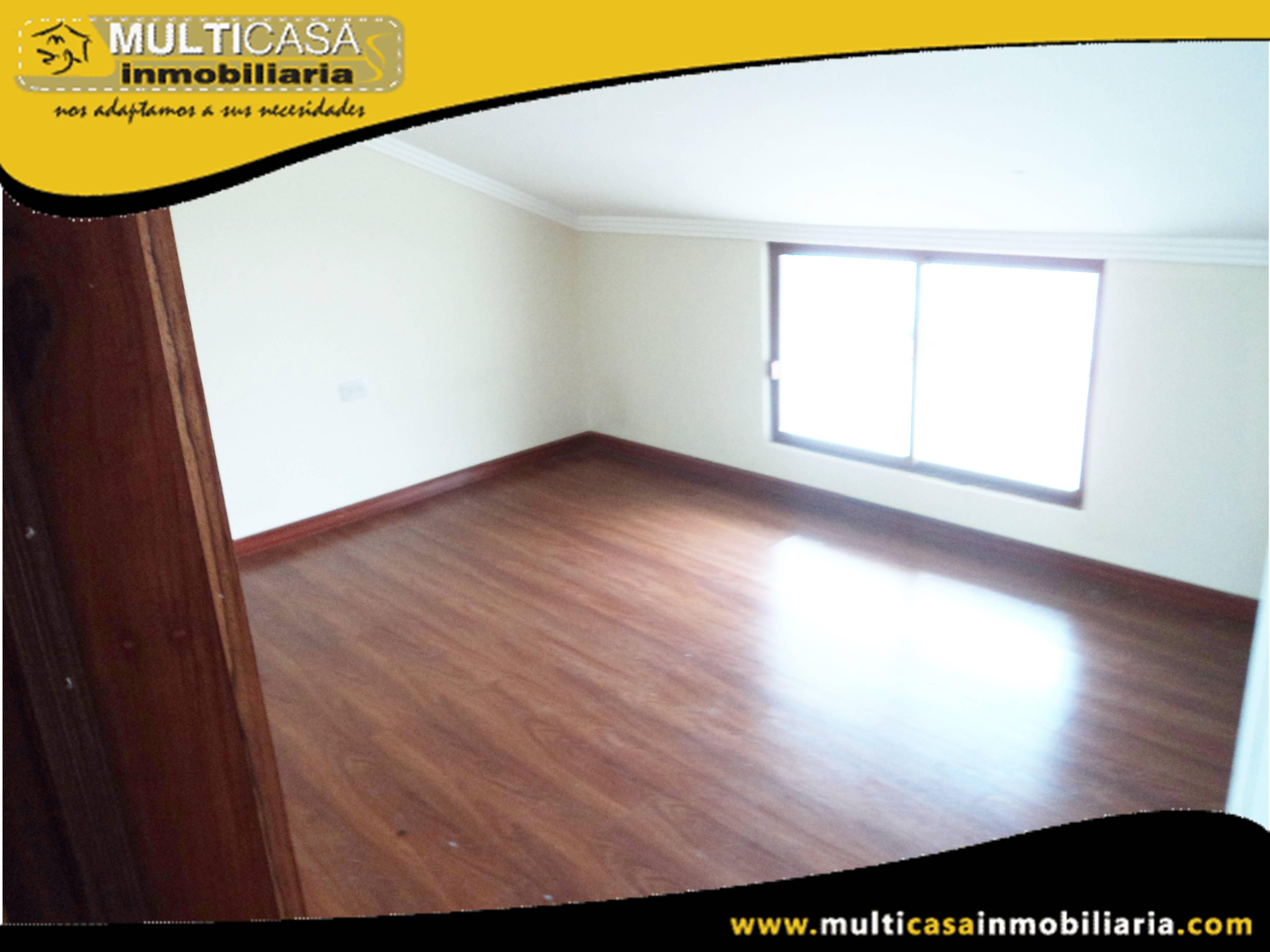 Departamento en Arriendo dos dormitorios Sector Centro de la Ciudad Cuenca-Ecuador