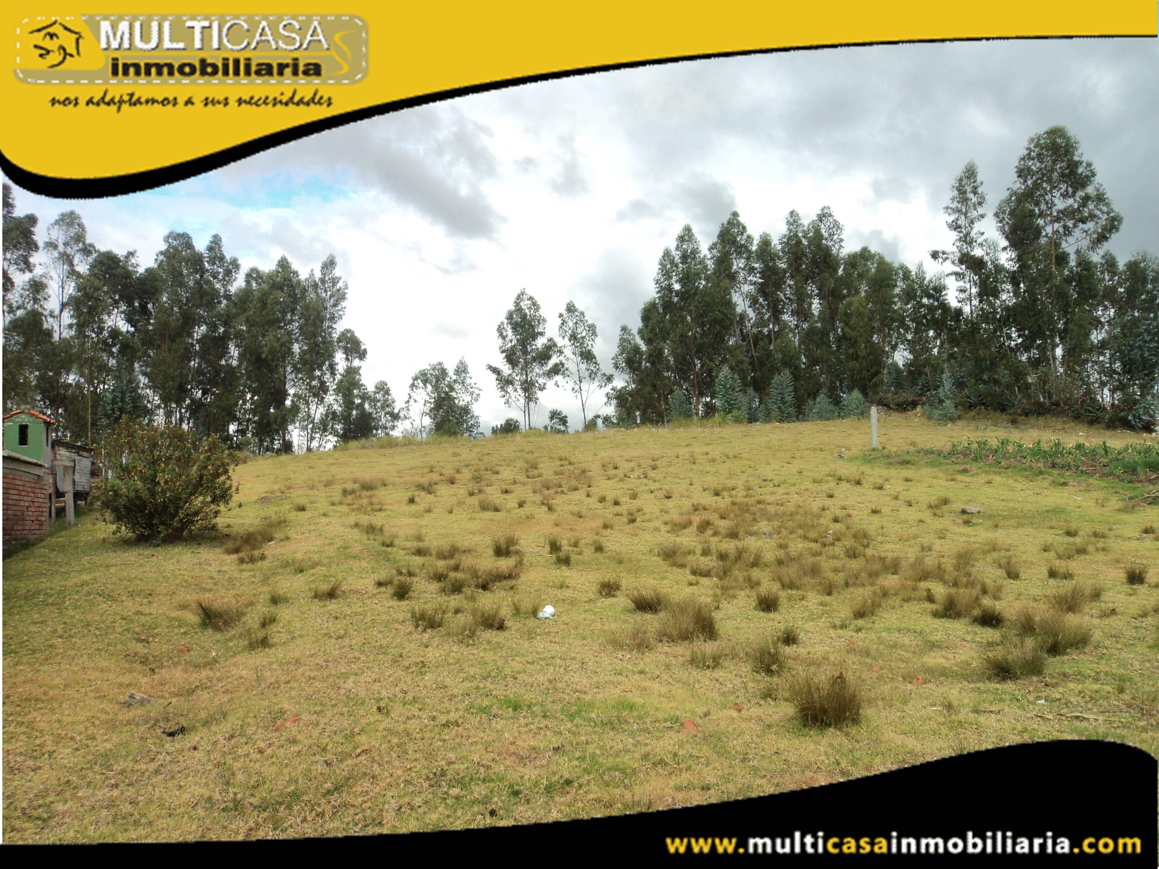Sitio en Venta a credito con Licencia Urbanistica Sector Mayancela Cuenca-Ecuador