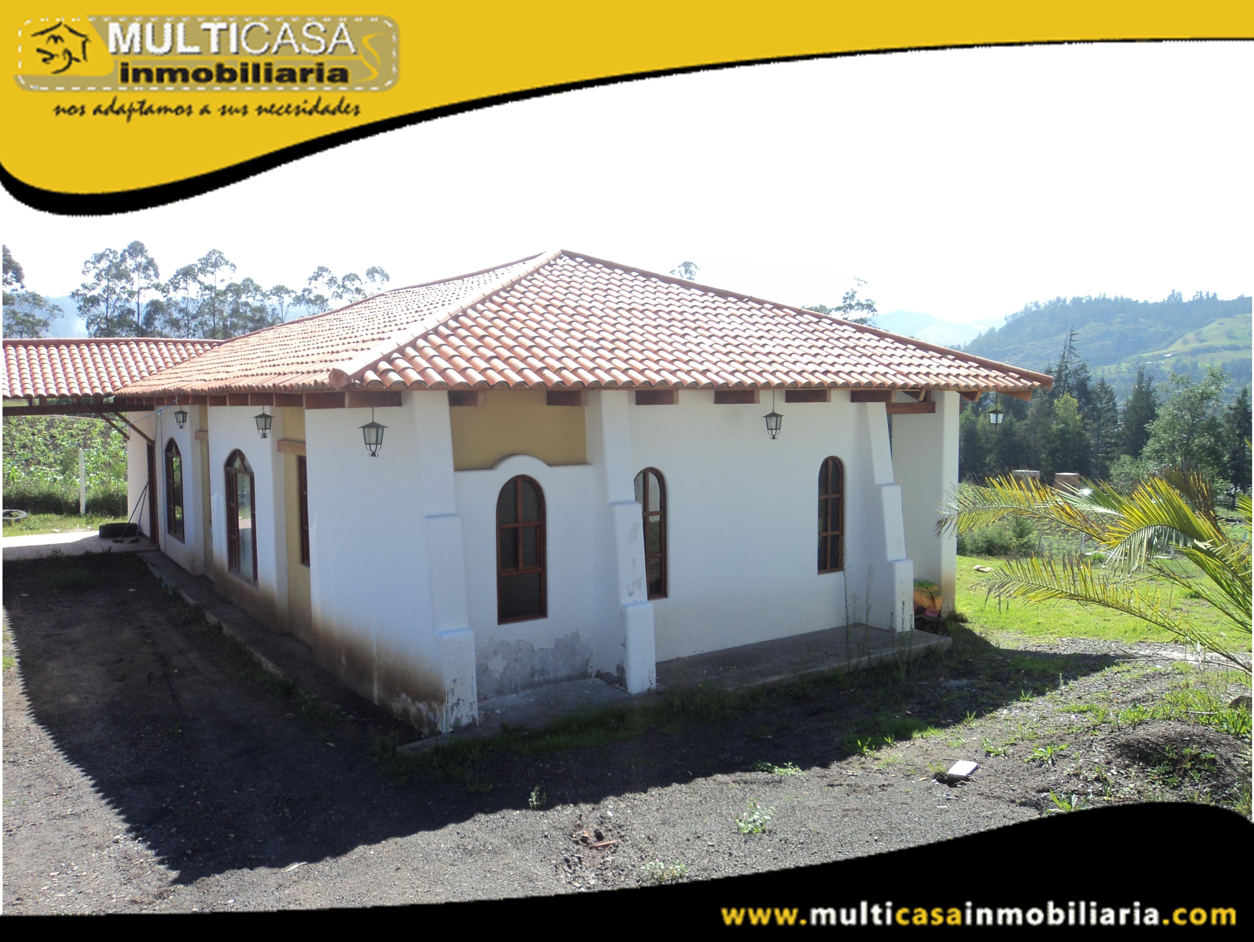 Casa en Venta a Crédito Sector El Descanso Cuenca-Ecuador