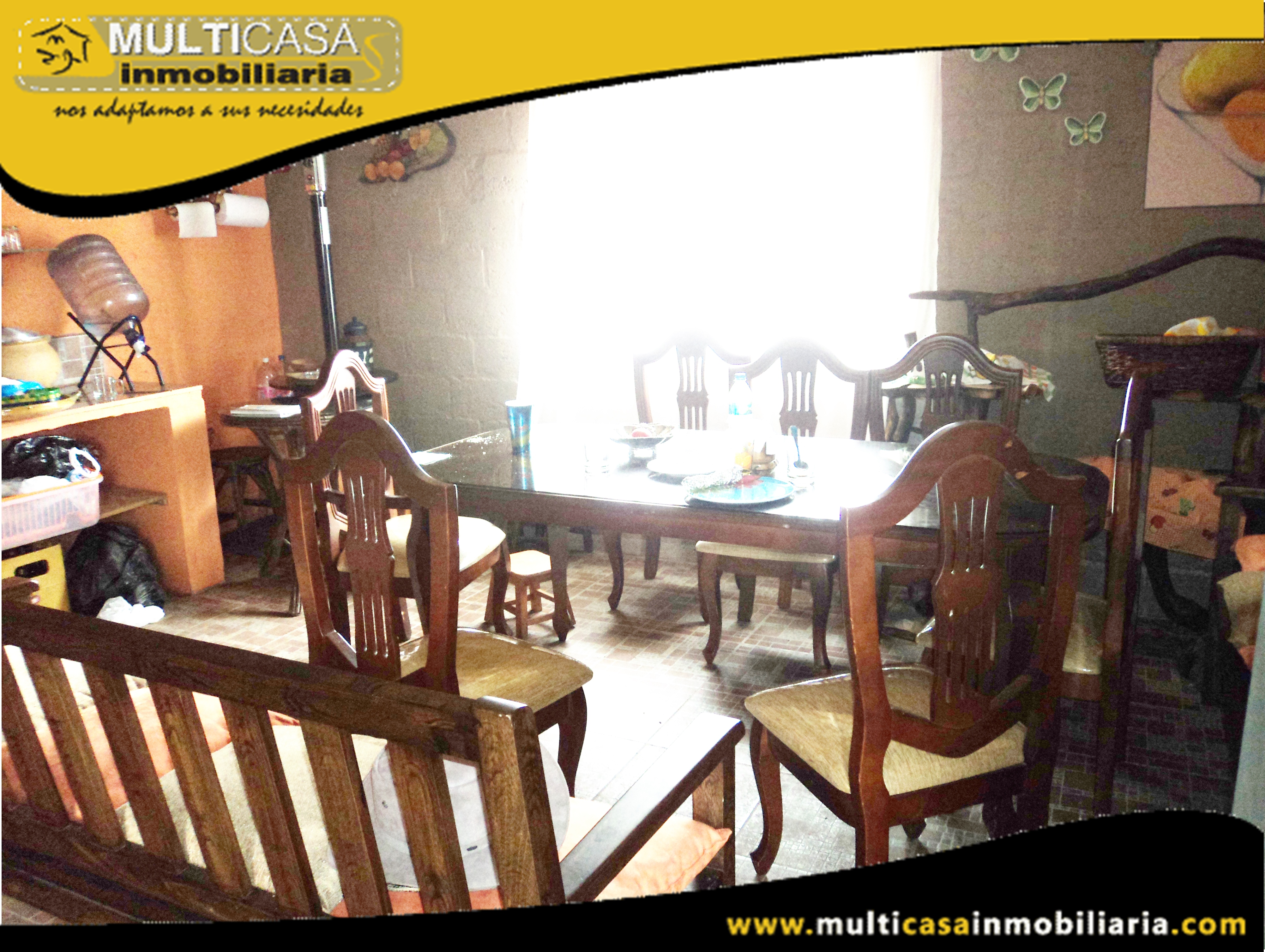 Hacienda en Venta bañada en Agua Sector Tarqui-Atucloma Cuenca-Ecuador