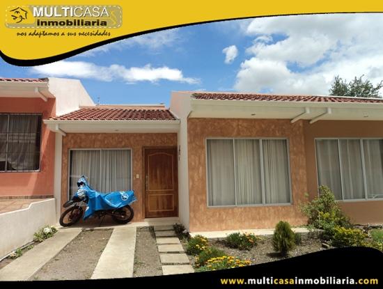 Casa en Venta en Urbanización a Crédito Sector Racar Cuenca-Ecuador