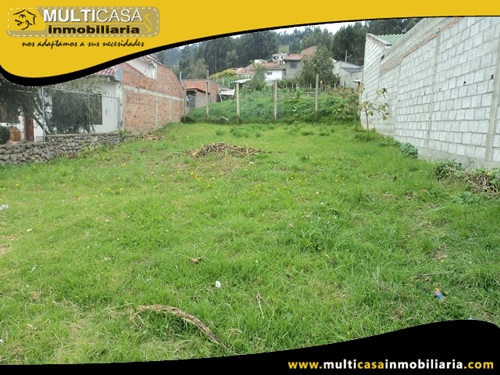 Sitio en Venta de Oportunidad a Crédito Sector Misicata Cuenca-Ecuador