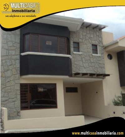 Casa en Condominio en Venta a Crédito Sector El Cebollar Cuenca-Ecuador