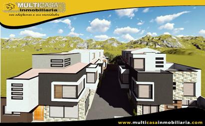 Casa en Venta por estrenar en Condominio Privado Sector San Jose de Balsay Cuenca - Ecuador
