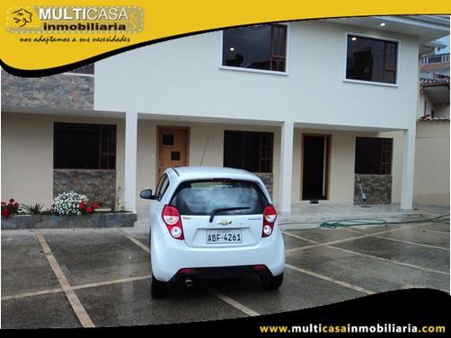 Casa Rentera en Venta a Crédito Sector Colegio La Salle Cuenca-Ecuador