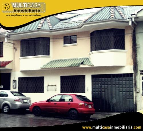 Casa en venta a Crédito Sector Empresa Eléctrica Cuenca-Ecuador
