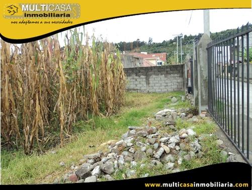 Terreno en Venta a Crédito Sector Capulispamba Cuenca-Ecuador