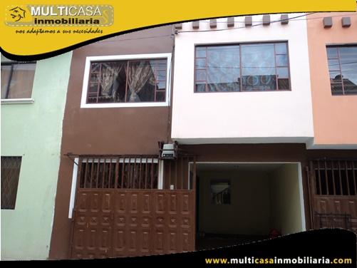 Casa en Venta a Crédito Sector Uncovia Cuenca-Ecuador