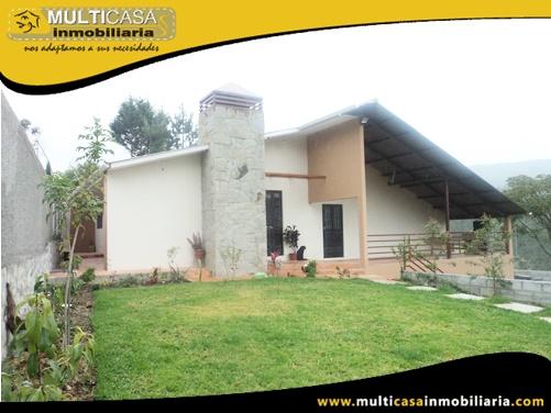 Casa en Venta a Crédito Sector Ricaurte-Sidcay Cuenca - Ecuador