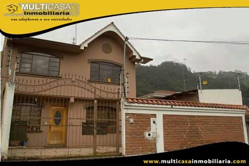 Casa en Venta a Crédito Sector Baños Cuenca-Ecuador