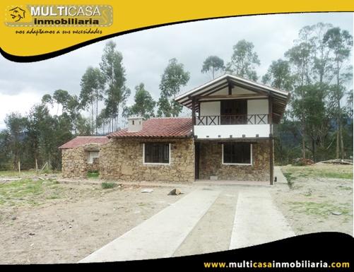 Quinta en Venta a Crédito Sector Solano Cuenca-Ecuador