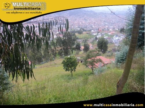 Terreno en Venta a Crédito Sector Control Sur Cuenca-Ecuador