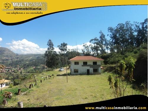 Casa con Terreno en Venta a Crédito Sector Challuabamba Cuenca-Ecuador