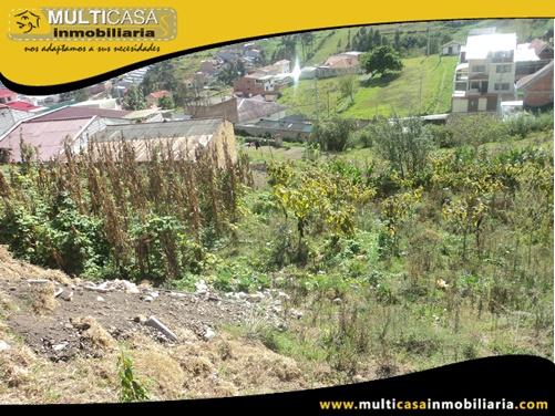Terreno en Venta a Crédito con Licencia Urbanística Sector Tejar Cuenca-Ecuador