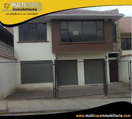 Casa Comercial en Venta con Local a Crédito Sector Racar Cuenca-Ecuador