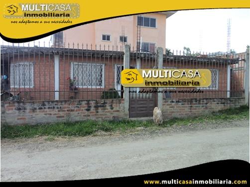Casa Comercial en Venta a Crédito Sector El Cebollar Cuenca-Ecuador
