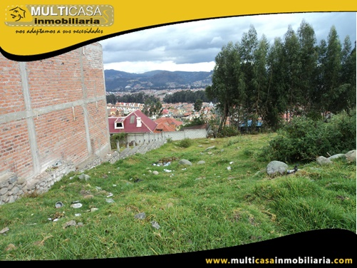 Terreno en Venta a Crédito con Licencia Urbanística Sector Ave. Los Cerezos Cuenca-Ecuador